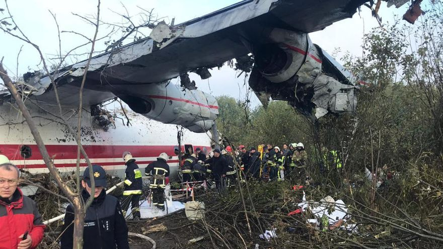 Desvelan las causas del accidente mortal del vuelo Vigo-Ucrania de 2019