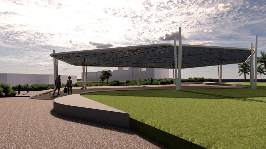 El parque urbano de Melenara tendrá un recinto ferial para las fiestas