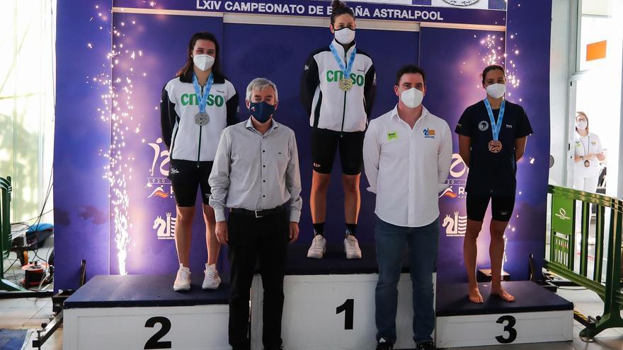 Cata Corró abre el Nacional de invierno de natación con cuatro medallas