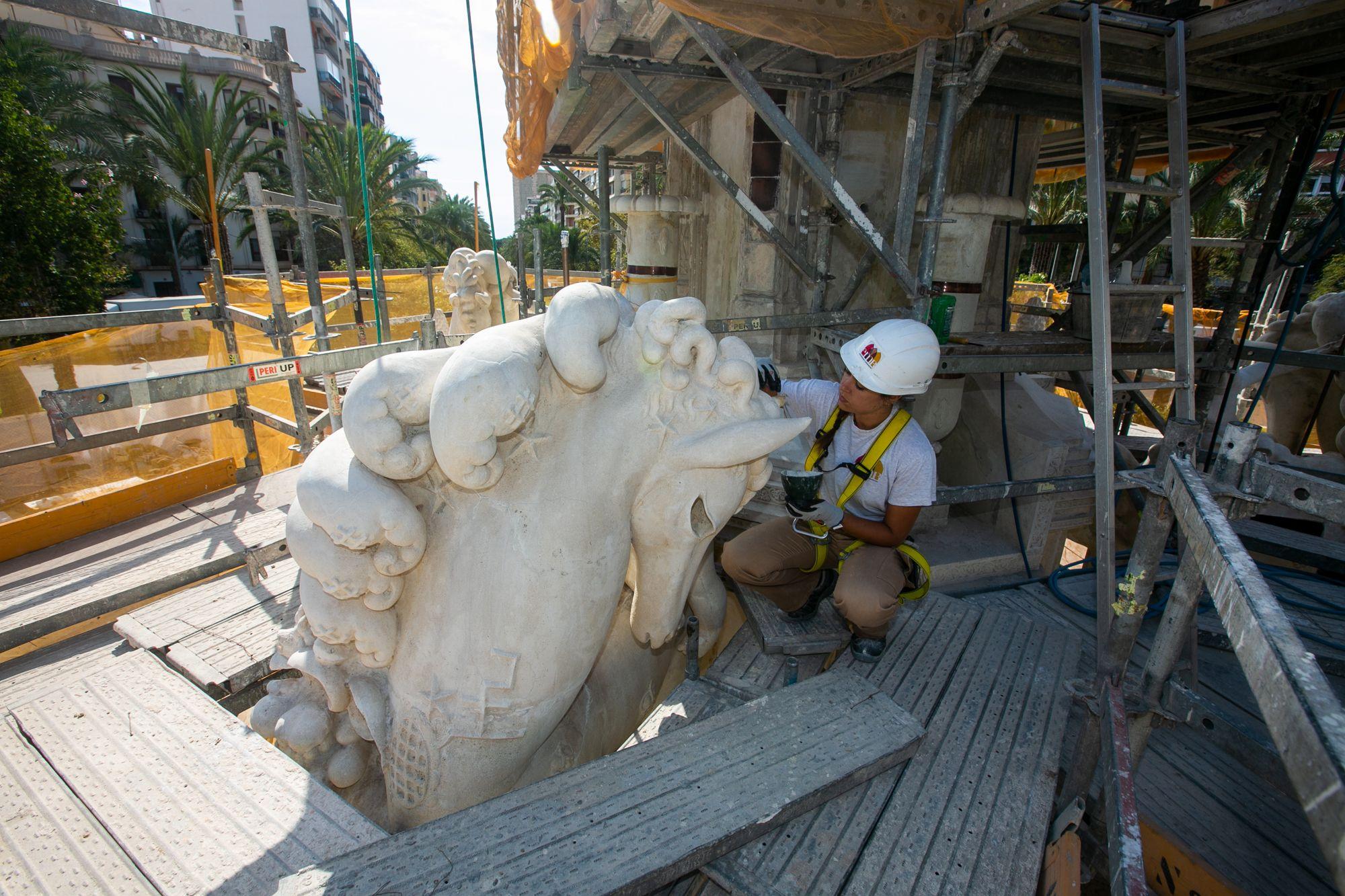 Nuevo atractivo para Luceros: la fuente contará con espectáculo de agua y luz tras su restauración