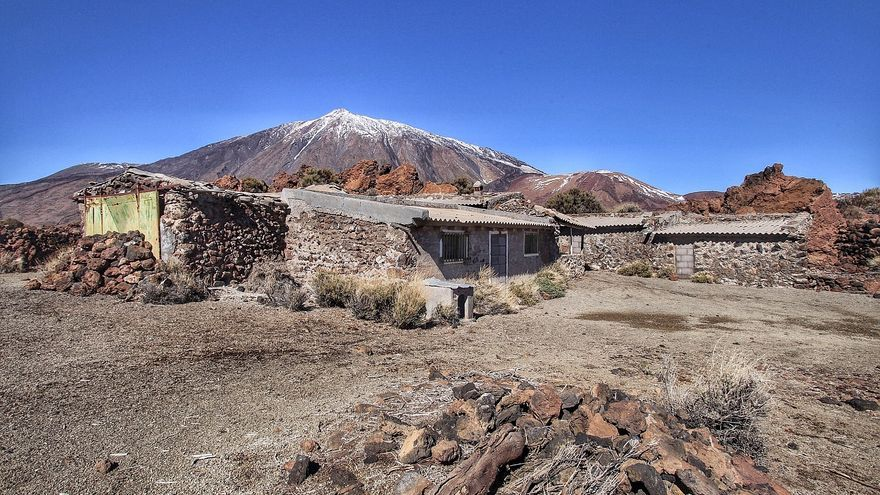 Tenerife invierte 195.000 euros en la demolición del sanatorio del Teide