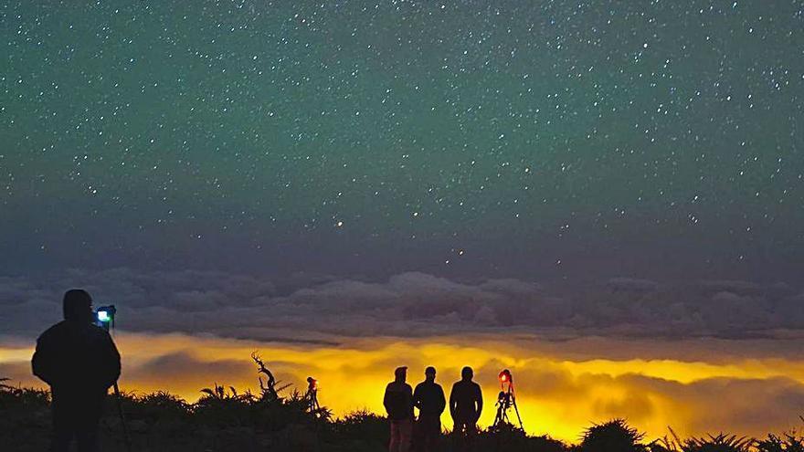 Los fotógrafos aficionados exigen un acceso libre a las cumbres de la Isla