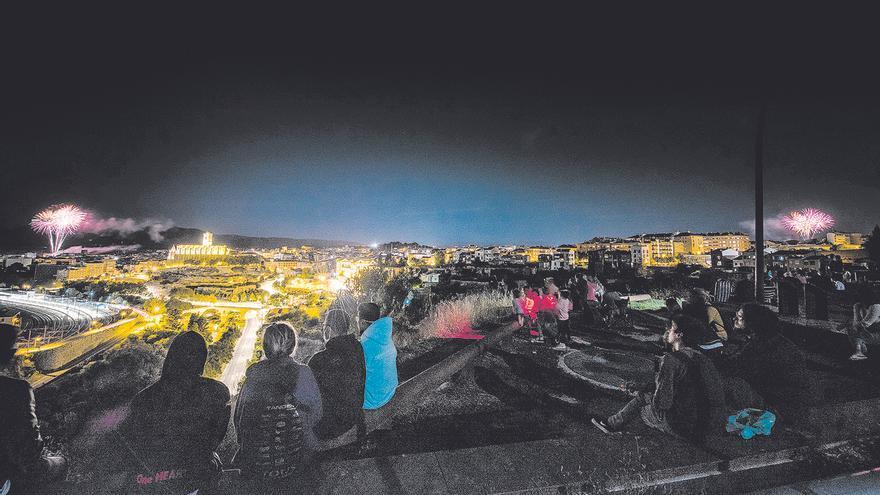 El castell de focs, un espectacle de ritme i sonoritat