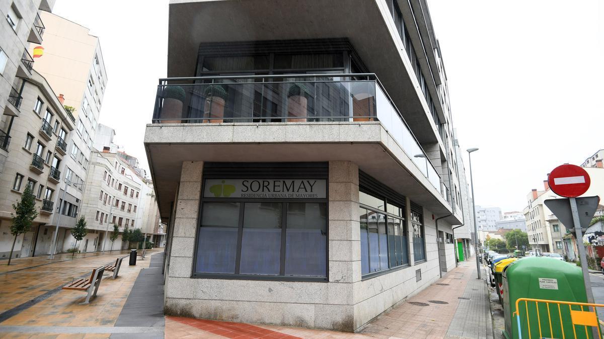Residencia Soremay en Pontevedra.