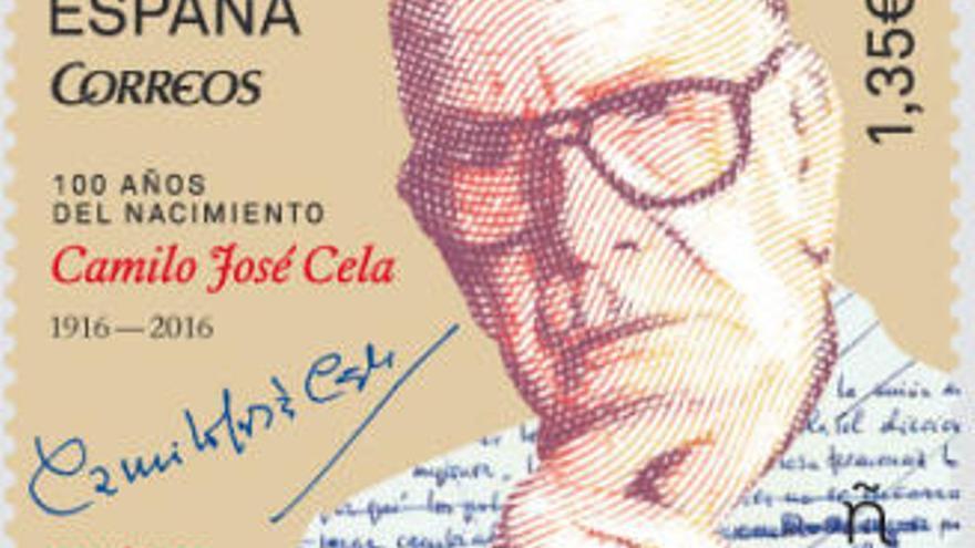 Correos dedica un nuevo sello a Camilo José Cela  por su centenario