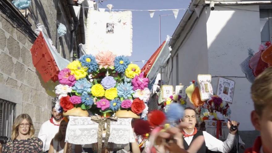 Fiesta de los Tableros en Valdefuentes.