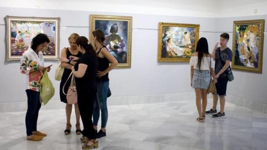 Una colectiva homenajea en Xàtiva a Mompó Roca al año de su fallecimiento