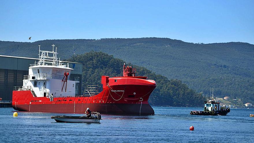 Nodosa bota el segundo buque para la naviera Royal Arctic Line