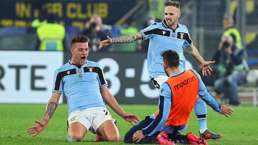 El Lazio, el gran rival de la Juventus