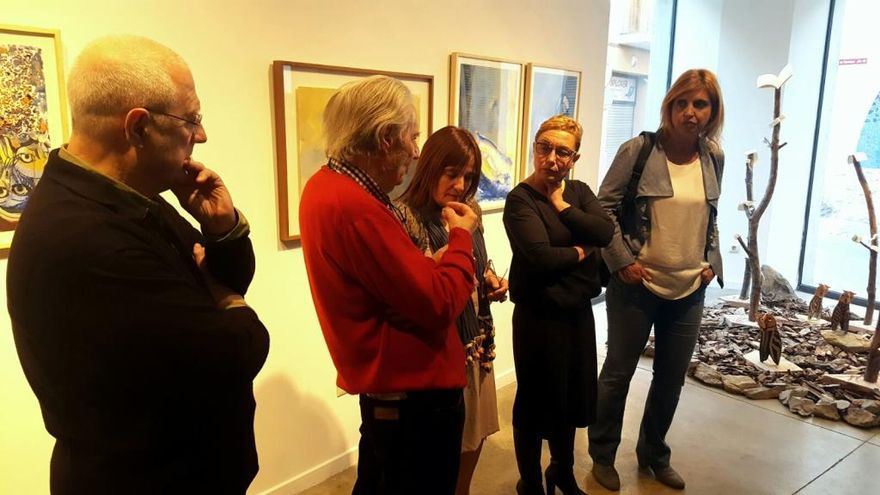 Figueres ret homenatge a l'artista Josep Guinovart