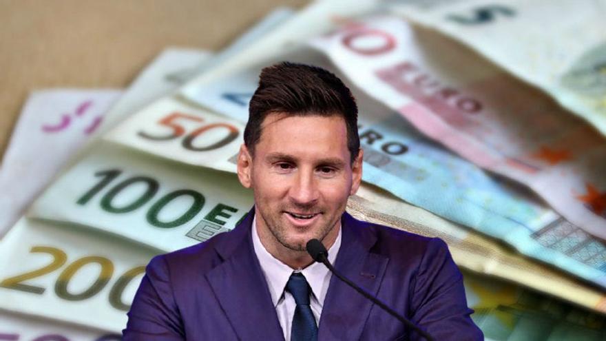 Cuánto tarda Leo Messi en ganar tu sueldo