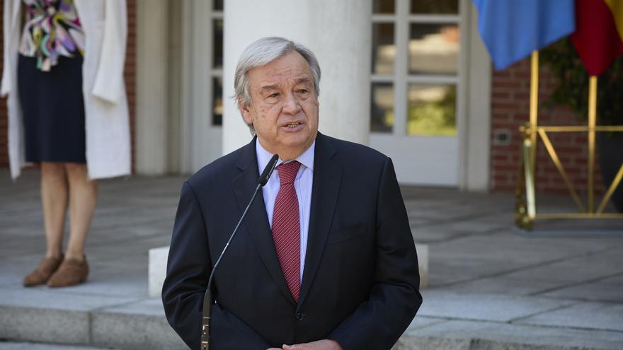 """El secretario general de la ONU, António Guterres, pide """"prohibir todas las pruebas nucleares"""""""
