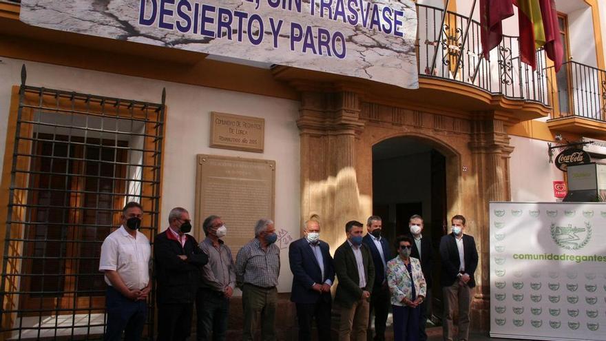 Los regantes llaman a la ciudadanía a echarse a la calle a favor del Trasvase