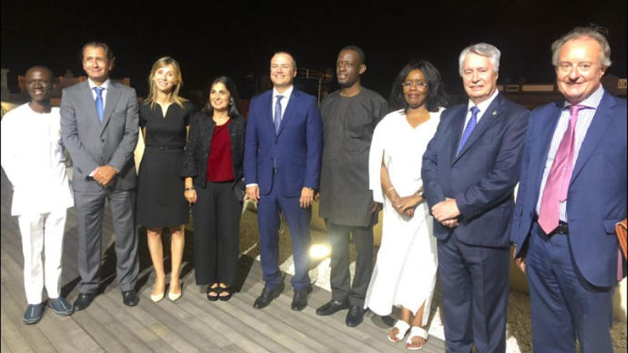 Encuentro con los participantes del primer Foro España-Ghana de Turismo y Comercio