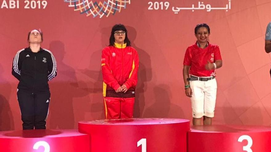 Amaia Valentín recull cinc medalles en els Jocs Mundials d'Abu Dhabi