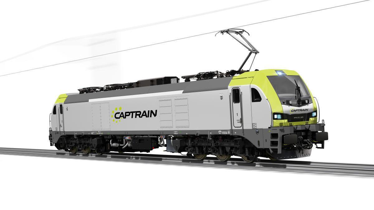 Nuevo modelo de locomotora eléctrica
