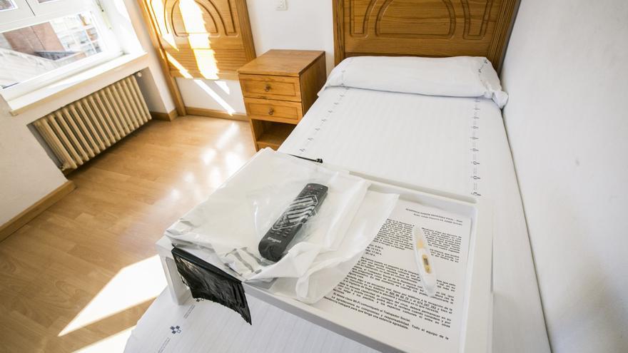 Positivos asturianos o turistas en aislamiento: la residencia Ramón Menéndez Pidal se convierte en un recurso pionero para luchar contra la covid