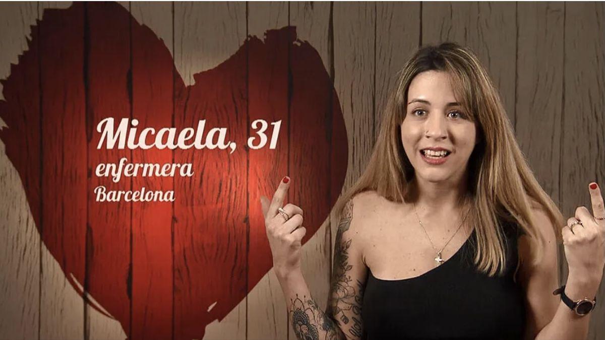 Micaela, comensal de 'First Dates'.
