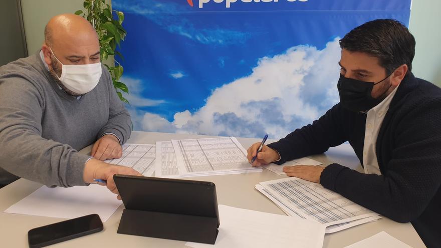Jaime Martínez propondrá a Javier Bonet como secretario general del PP de Palma