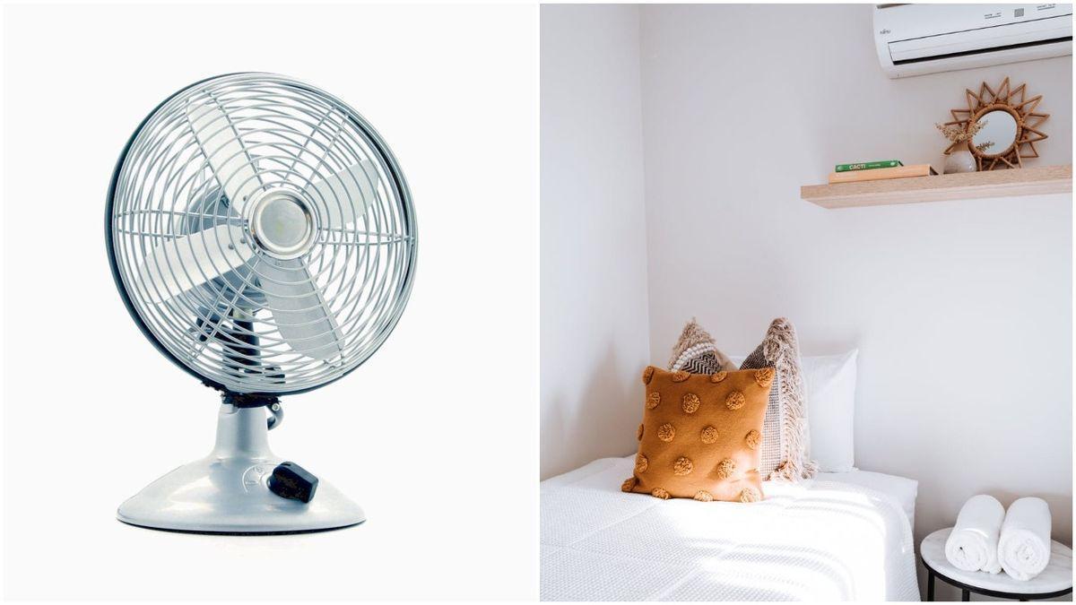 Qué consume más, ¿el aire acondicionado o el ventilador?.¡