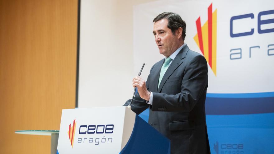 Las patronales de Aragón rebaten el apoyo de Garamendi a los indultos