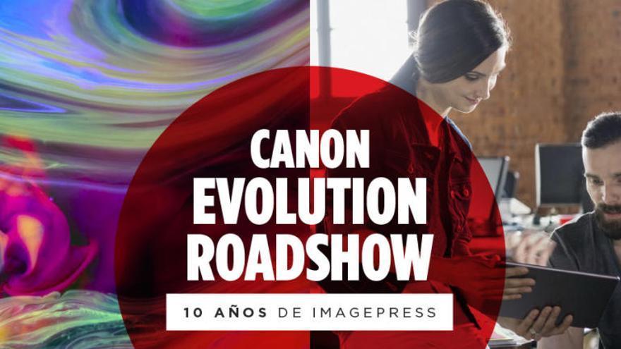 Canon presenta en Valencia su Evolution Roadshow