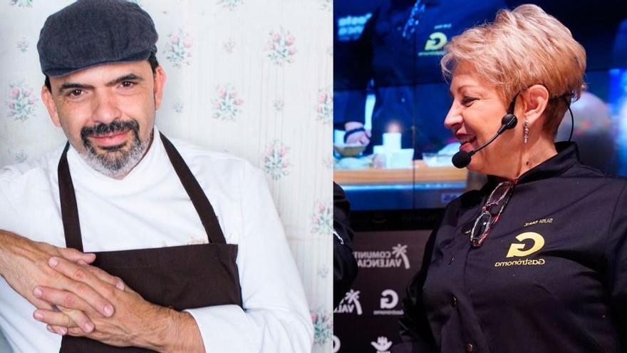 Jesús Sánchez cocinará con Susi Díaz en Gastrónoma 2020