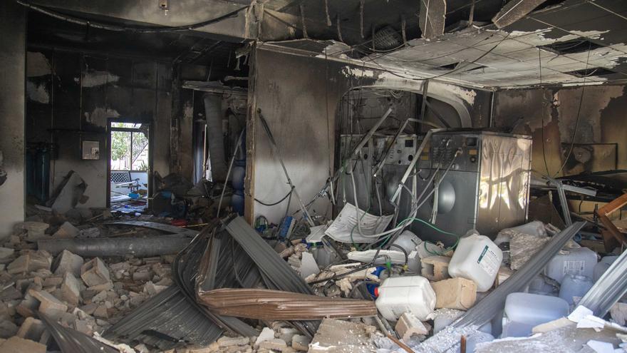Un escape de propano pudo provocar la explosión en la lavandería de Algaida