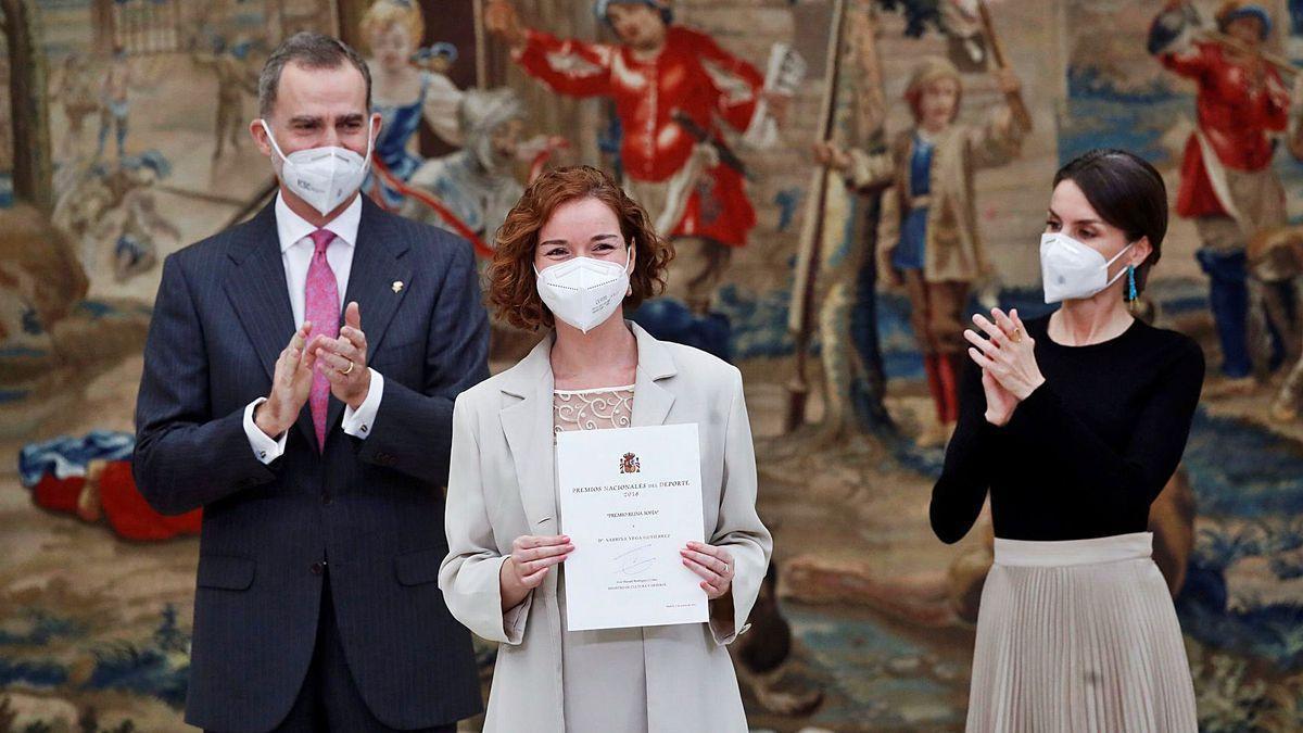 La ajedrecista Sabrina Vega, premiada por su gesto heróico en defensa de las mujeres de Arabia Saudí