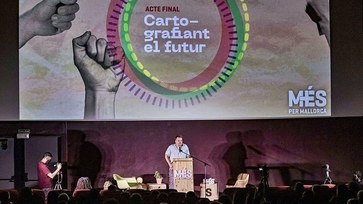 En el acto de Més celebrado en la Sala Augusta de Palma participaron 150 personas.