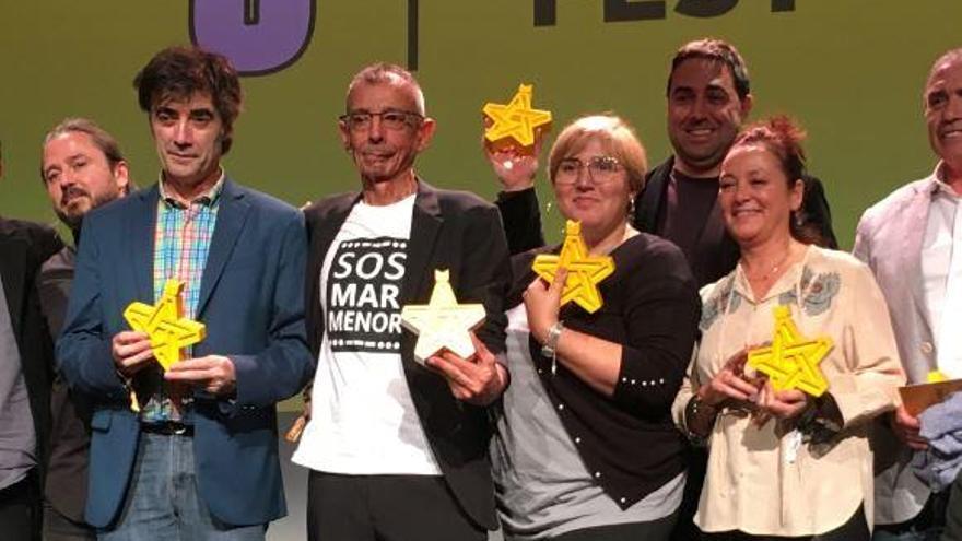 El SOS por el Mar Menor llega a Bilbao