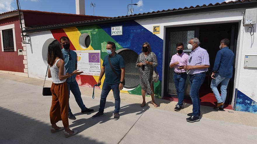 Transforman la Casa de la Cultura de Carcaboso en centro de empleo