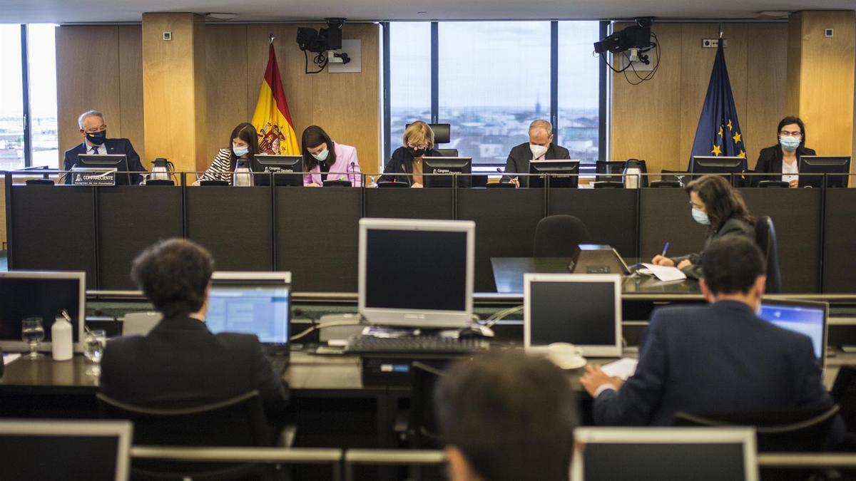 Reunión de la comisión de investigación sobre el caso Kitchen