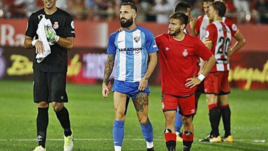 El Màlaga, un rival ple de maldecaps per quadrar el límit salarial