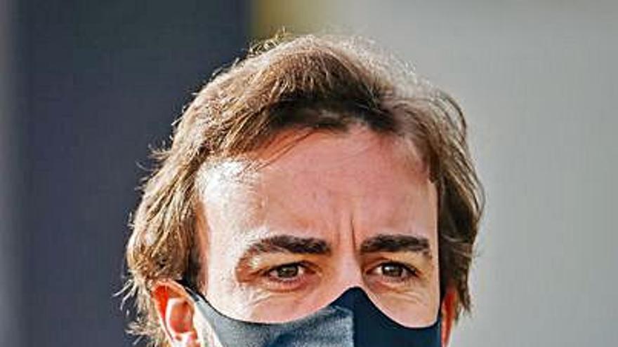 """Alonso: """"El cuello no está preparado todavía"""""""