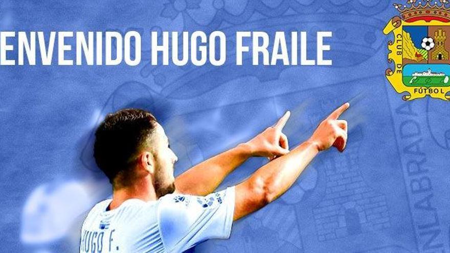 Hugo Fraile vestirá la próxima campaña la camiseta del Fuenlabrada