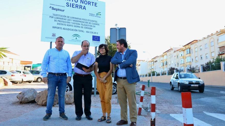 El Ayuntamiento inicia el cambio de luminarias en ocho distritos por 2,8 millones