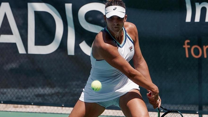 La española Rebeka Masarova jugará por el título del torneo de tenis palmeño