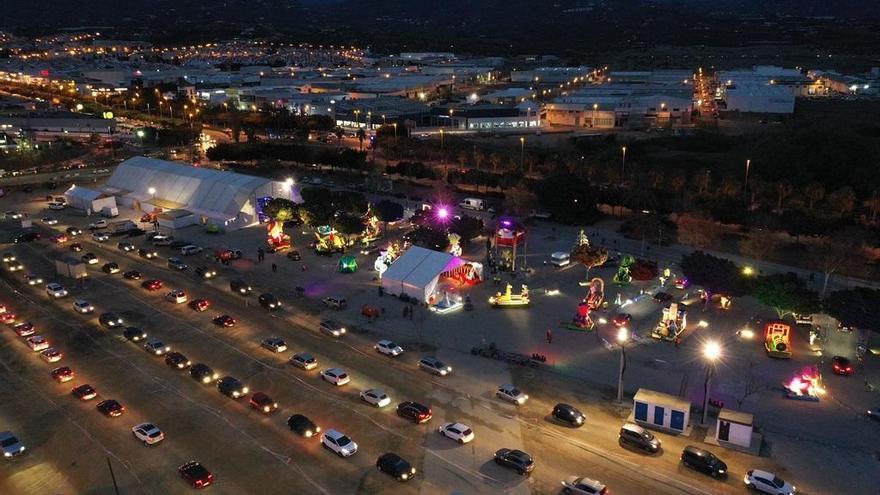 Unas 20.000 personas visitan a los Reyes Magos en Vélez