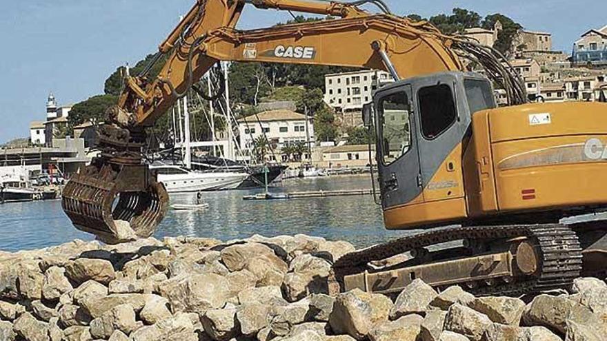 Costas retoma la reforma de los espigones en el Port de Sóller