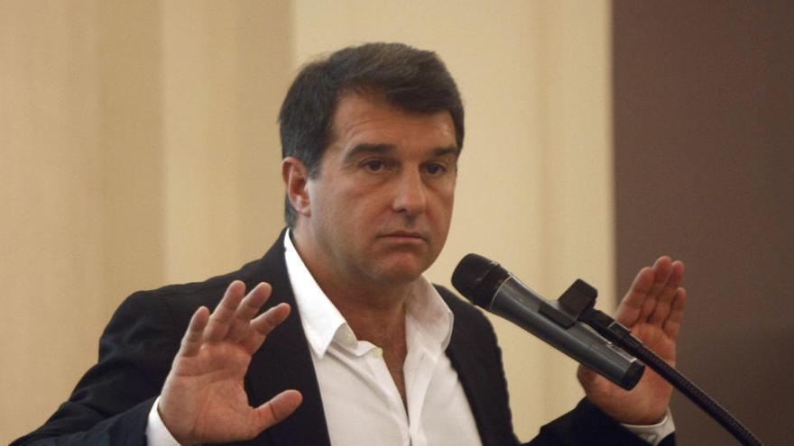 Laporta confirma que planea presentarse a las elecciones