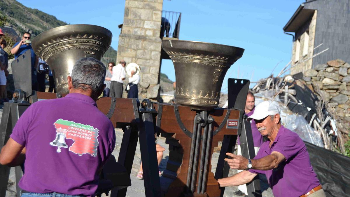 Un acto de los campaneros en Sanabria
