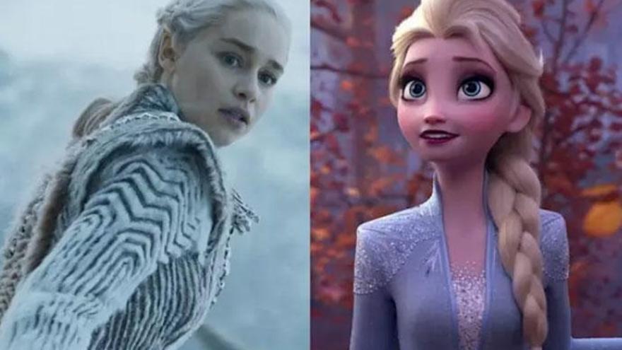 Así sería Emilia Clarke como Elsa en un remake de 'Frozen'