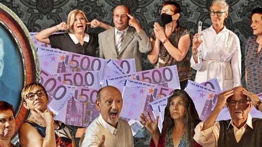 Quina obra fem? estrena «Els milions de l'oncle» a Sant Miquel de Fluvià