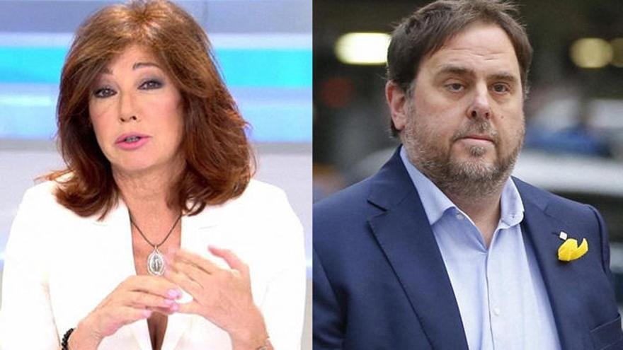 Ana Rosa entrevistará a Junqueras desde la cárcel