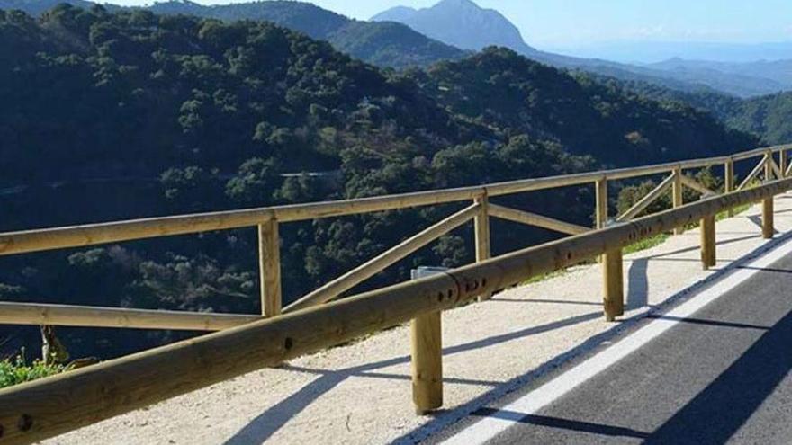 La Diputación realizará sendas peatonales en tres carreteras de Málaga para mejorar la seguridad vial