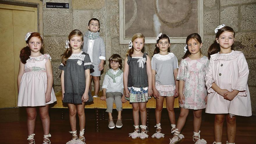 La moda infantil desfila en Mondariz