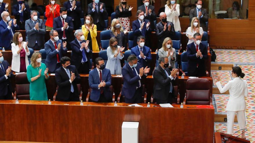 Directo | Segunda jornada de la investidura de Isabel Díaz Ayuso en la Asamblea de Madrid