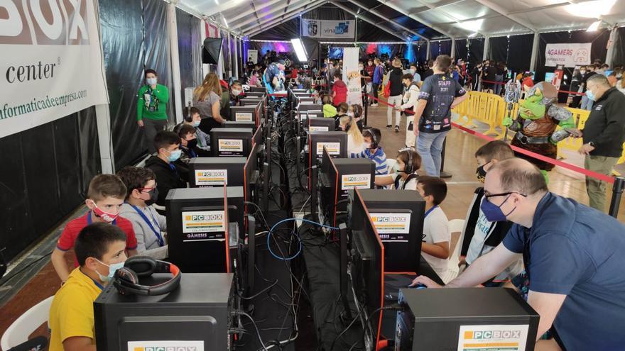 Los videojuegos arrasan en Vinaròs