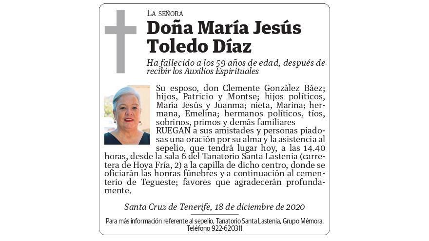 María Jesús Toledo Díaz